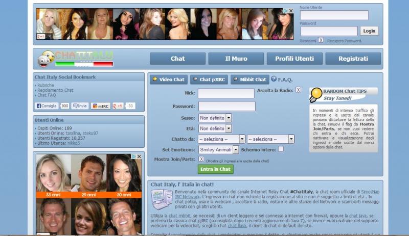 riconquistare il tuo uomo chat italy gratis senza registrazione